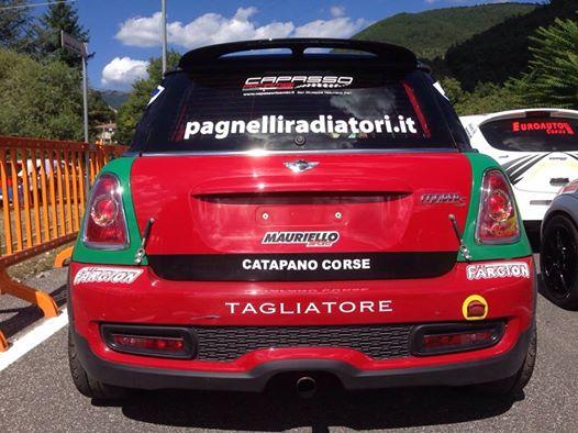 Mini Cooper vincitrice 52^ Rieti Terminillo #RacingStar