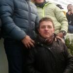 Con Jean Alesi e Michael Schumacher