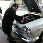 L'elegantissima Lancia Flavia 1.8