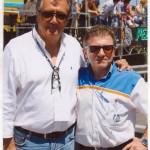 Insieme a Giancarlo MInardi #F1