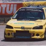 La Peugeot 106 Turbo con il nostro intercooler